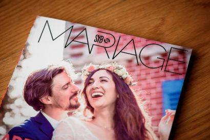 magazine photo album de mariage photographe à nantes